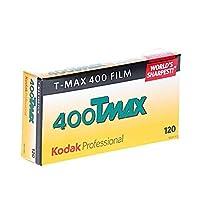 Kodak 856 8214 Professional 400 Tmax Black and White Negative Film 120 (ISO 400) 5 Roll Pack