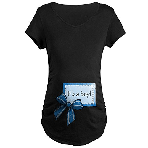 CafePress - Its a boy! Maternity T-Shirt - Cotton Maternity T-shirt, Cute & Funny Pregnancy Tee