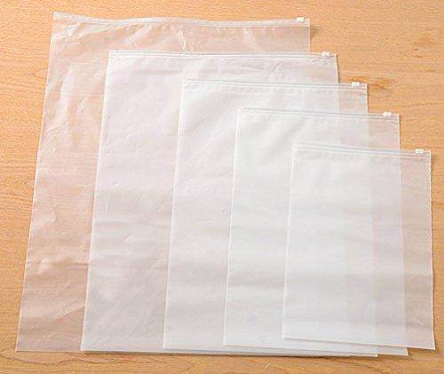 Conjunto de 5 Moda Viajes Corea del portable impermeable Función Multi Plastic Armario bolsa de almacenamiento con cierre de cremallera