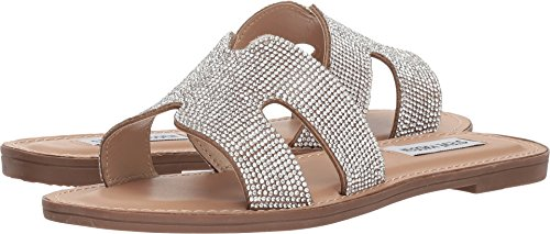 Steve Madden Women's Patrice Natural Multi 8.5 M US by Steve Madden