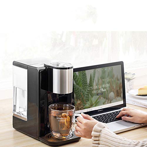 Hot Water Dispensers Mini Home Desktop Small hot Water Dispenser Office Desktop Mini hot Water Dispenser Small Insulated Kettle Bedroom Small Coffee Machine (Color : Black, Size : 16.3cm28cm31cm) by Combination Water Boilers Warmers (Image #1)