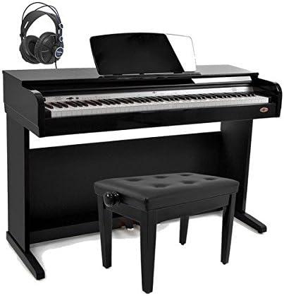 Gear4music DP10 - Piano el?ctrico con accesorios, color negro ...
