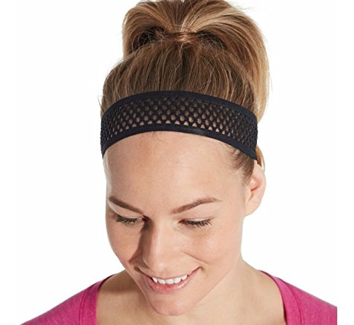 CALIA by Carrie Underwood Women's Thin Mesh Headband (One Size, (Pink Crochet Headband)