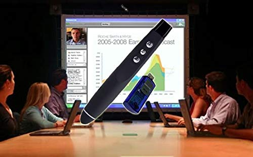 Caneta Multimidia Laser Pointer Apresentador Slides SHOW