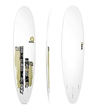 Tabla de surf Torq epoxy 8.0 Longboard de madera de olivo rodillo + una vez deckeneinbauleuchten