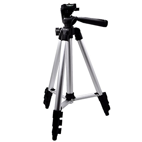 2way三脚スタンド・ビデオカメラ・スマホ・アイフォン・コンパクト・カメラ・スタンド・カメラスタンド・軽量・一眼レフ・アイフォン・iPhone7・約34~100cm・4段階収縮・収納袋付き・水準器付き・撮影・記念撮影・動画・ユーチューブ/IFD-370三脚スタンドの商品画像