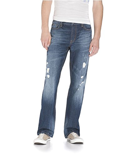 Aeropostale Mens Driggs Med Wash Slim Fit Jeans 962 27x28