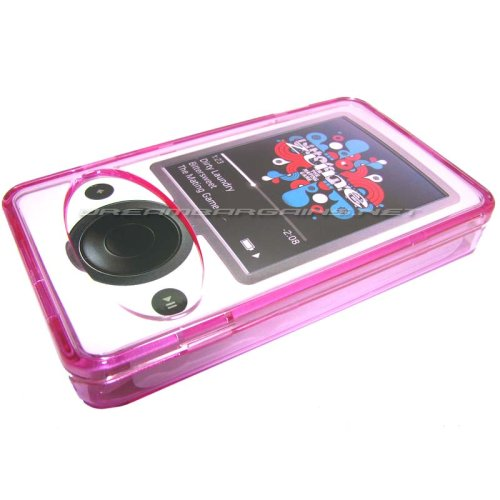 DB Zune 30gb Premium Protective Crystal Case - Pink ()