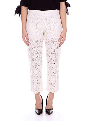 Mujer Viscosa Blanco Pantalón Blugirl 5346106 BxYdt4WBqw