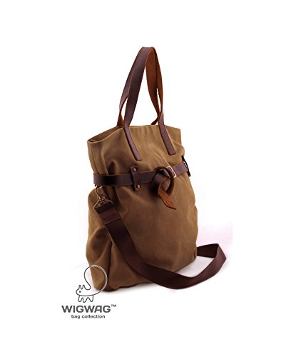 1e51845930 Image Unavailable. Image not available for. Color  Women s canvas leather  bag ...