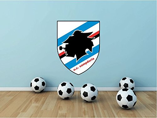Sampdoria FC Italy Soccer Football Sport Art Wall Decor Sticker 25'' X 19'' by postteam