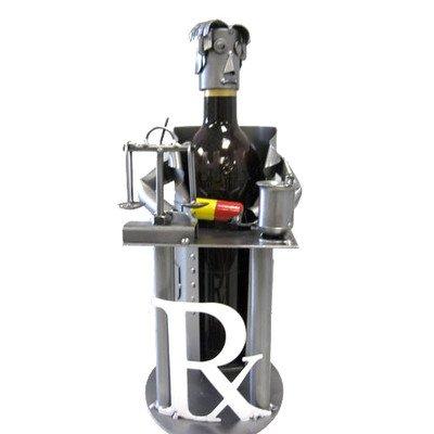 H & K New (2011) Pharmacist Wine Holder or Wine Caddy Mod...