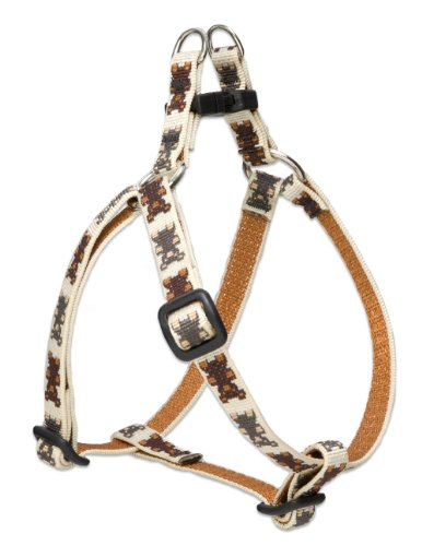 LupinePet 1/2-Inch Teddy Bears Step in Harness for Small Dogs, 10 to 13-Inch