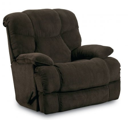 Lane Furniture Luck 41398P 4169-22 Pad-over-chaise Rocker Recliner with 73-inch Recline ZERO GRAVITY Mechanism and Comfort-cradle Scoop Seating in Brown Review