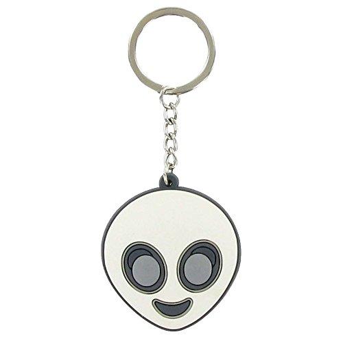 Llavero Emoji alien: Amazon.es: Joyería
