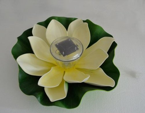 GenLed Waterproof Lotus Shape Solar Floa - Garden Fountain Outlet Shopping Results
