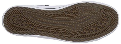 Dockers by Gerli 36AY609-710660 Unisex-Kinder Hohe Sneakers Blau (navy 660)