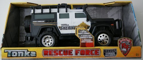 Tonka Rescue Force Sheriff Jeep