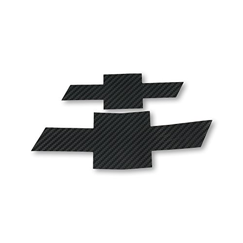 Bwen 2 PCS Black Carbon Fiber Emblem Sticker For Chevrolet Cruze 2009-2014 by Bwen (Image #6)