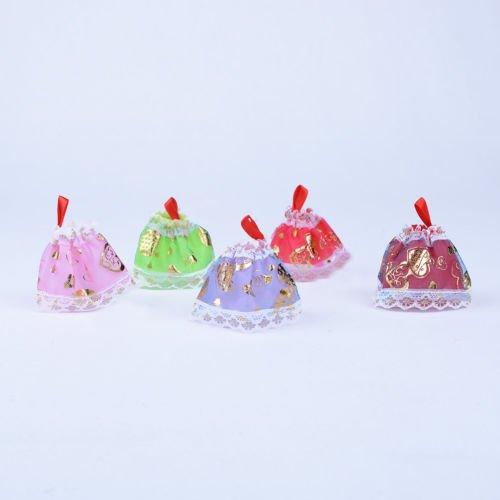 5X Accessories Party 12cm Dolls Clothes Nice for MiniShop Doll TM Dresses Princess Fashion 5qWFaP