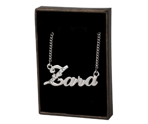 Name Necklaces Zara - Personalized Necklace White Gold for sale  Delivered anywhere in USA