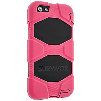 2a1a6d53137e2b Griffin Survivor All-Terrain Coque pour iPhone 6 Plus et 6s Plus - Rose
