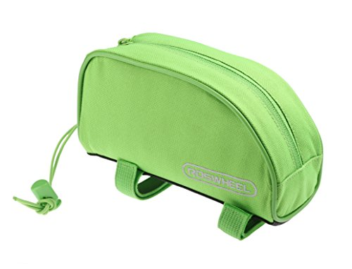 Roswheel 12654 Bike Bicycle Frame Top Tube Pannier Cycling Tool Pouch Bicycle Accessories Bag- Mint Green