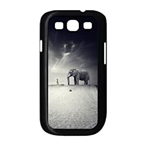 D-PAFD Phone Case Elephant Hard Back Case Cover For Samsung Galaxy S3 I9300