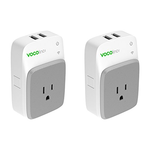 VOCOlinc PM3 Smart Plug Outlet with 2 USB Charging Ports, Energy Monitoring, Adjustable Night Light, Works with Apple HomeKit, Alexa and Google Assistant, No hub required, Wi-Fi 2.4GHz by VOCOlinc (Image #6)