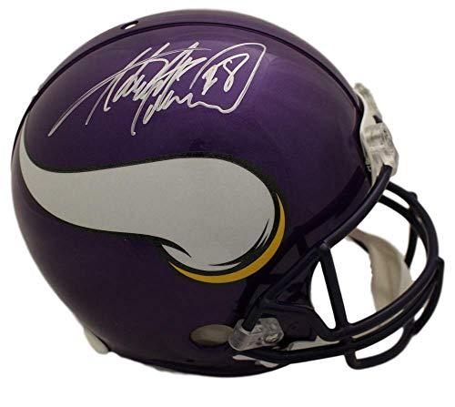 - Adrian Peterson Autographed/Signed Minnesota Vikings Proline Helmet BAS