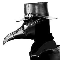 PanDaDa Steampunk Plague Doctor Bird Mask Long Nose Beak Mask Retro Cosplay Masks Halloween Costume Props