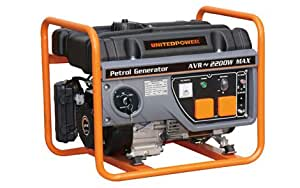 United Power GG2800E, 2200 Running Watts/2400 Starting Watts, Gas Powered Portable Generator