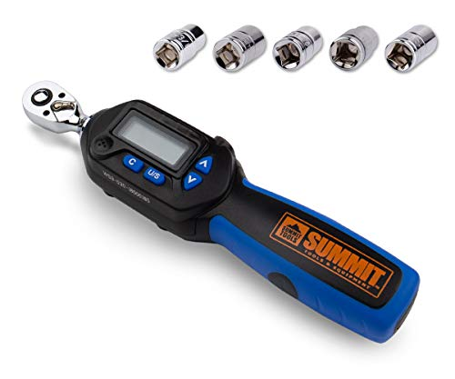 Summit Tools Digital Torque Wrench with 3/8-inch