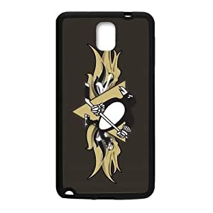 Custom Durable Silicone Personalized NHL Pittsburgh Penguins Samsung Galaxy Note 3 Case