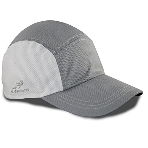Headsweats Race Performance Sport Hat Cap Grey