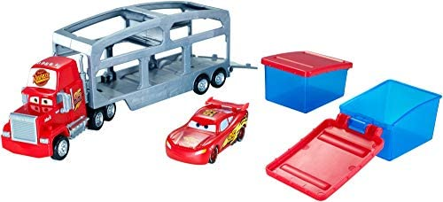 Disney Pixar Cars Mattel Disney Cars CKD34 - Spielbahnen, Macks Farbwechsel Station
