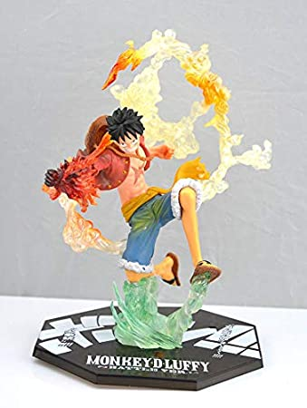 Amazon Com Deep Huble One Piece Monkey D Luffy Action