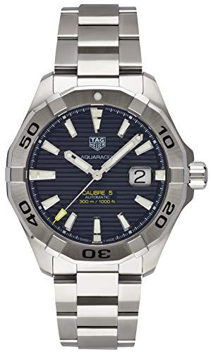 Black Dial Tag - TAG Heuer Aquaracer Black Dial Calibre 5 Automatic Men's Watch WAY2010.BA0927