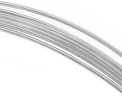 925 Sterling Silver Round Wire 24 gauge 0.5mm Half Hard 5ft
