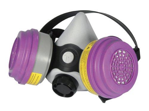 SAS seguridad 3653–50Pro Multi-Use halfmask Respirador con concha orgánico, Vapor/Cartuchos de gases ácidos y...