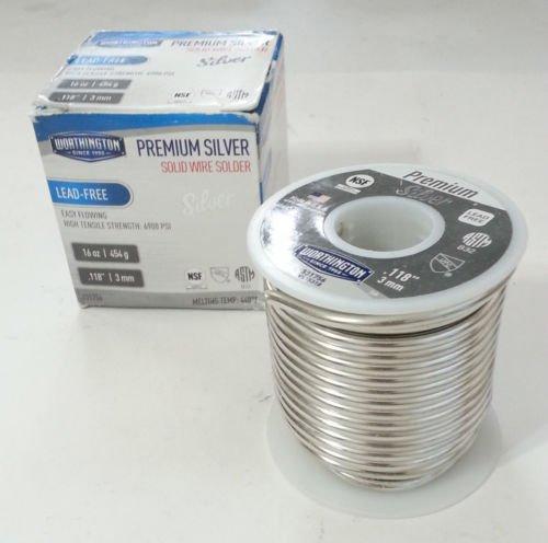 1lb-worthington-premium-silver-solder-118inch-3mm-dia-lead-free-331756-nsf