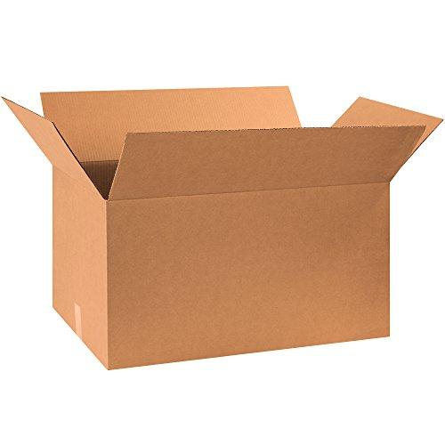 "Aviditi 301716 Single-Wall Corrugated Box, 30"" Length x 17"""