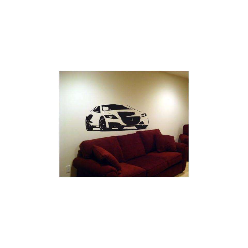 Wall MURAL Vinyl Decal Sticker Car HONDA CR Z COUPE 009