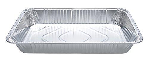 DOBI (15-Pack) Full-Size Deep Chafing Pans - Disposable Aluminum Foil Steam Table Deep Pans, Full Size - 20 1/2'' x 12 1/2'' x 3 1/4'' by DOBI (Image #3)