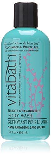 Vitabath® Cucumber and White Tea Body Wash