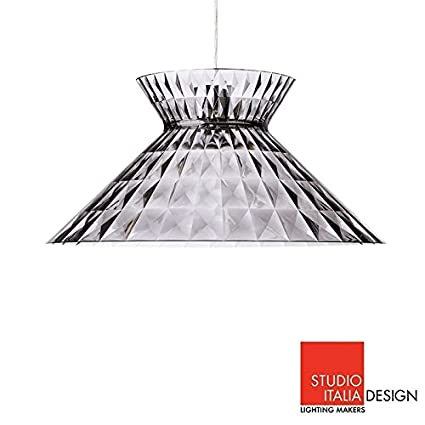 Studio italia design Rain Image Unavailable Lightkulture Sugegasa Led Suspension Ceiling Lamp Clear Fumè Studio Italia Design