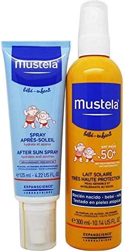 Mustela Pack Spray Solar SPF50+ 300ml + Spray Post Solar 125ml ...