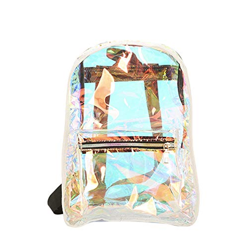 Thenxin Stylish Clear Backpack Transparent Jelly Bag See Through Daypack for women Teen...