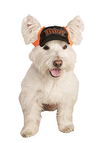 Rubie's Boo Baseball Cap Pet Costume, Small/Medium
