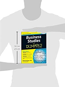 Business Studies For Dummies from For Dummies